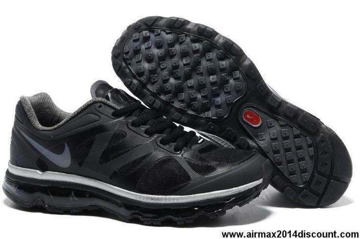 Fashion Black Metallic Cool Grey Nike Air Max 2012 Mens 487679020 Shoes  Shop