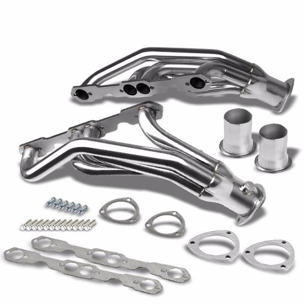 Stainless Steel Exhaust Header Manifold For 92 95 Chevrolet K1500
