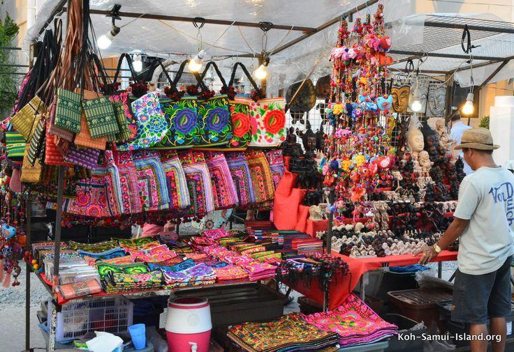 Hippy bags at Walking street market Bophut Koh Samui #bophut #kohsamui #thailand