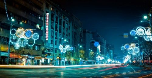 Bucharest in colour by Cioplea Vlad