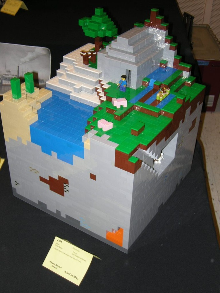 Custom Lego Minecraft Set!