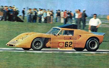 1968 Carlos Ruesch, Numa Mk II Tornado