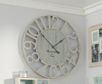 Cut Out Metal Wall Clock