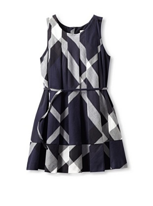 Burberry Kid's Dress (Navy Check)
