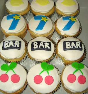 Slot machine cupcakes