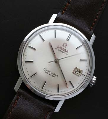 Vintage Omega Seamaster date automatic watch circa 1967