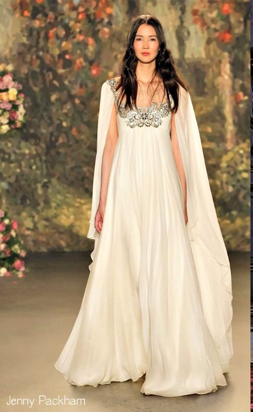 Caped wedding dresses are so hot right now. Check out 2016 wedding dress trends to make sure you look amazing on your special day.