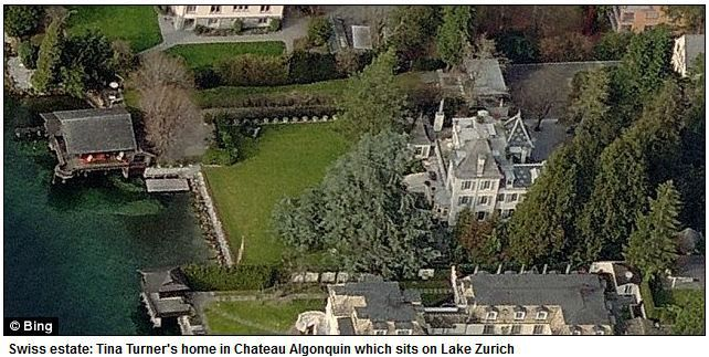 Swiss estate: Tina Turner's home in Chateau Algonquin ...