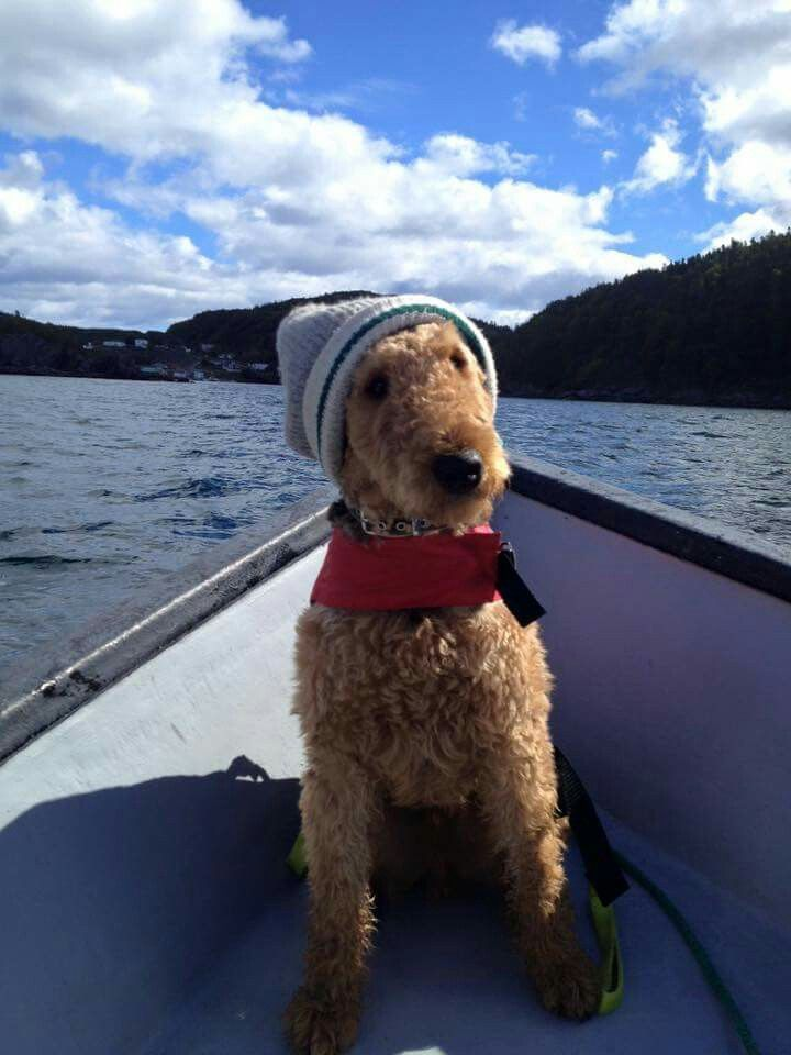 Fisher loves to sail!
