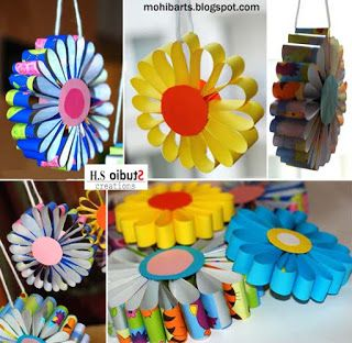 Bri-coco de Lolo: Fleurs suspendues
