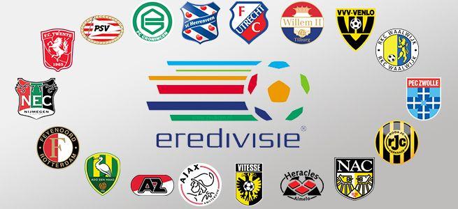 Alle Eredivisie teams
