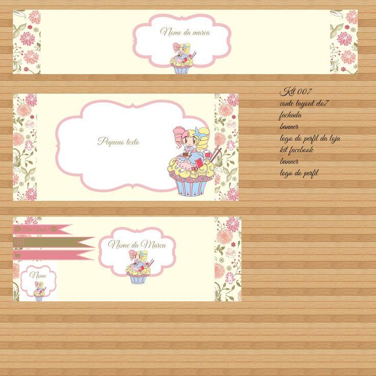 Kit <br>contem <br>layout para loja elo7 <br>fachada e banner e logo do perfil <br>layout para facebook, banner e logo do perfil <br> <br> <br>outras artes e só entrar em conato <br>kit exclusivo para facebook e loja elo7