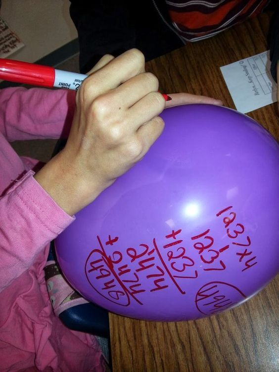 Awesome cooperative learning math strategy from The End of Molasses Classes by Ron Clark! Students work in teams to solve a math problem on a balloon using as many strategies as possible!