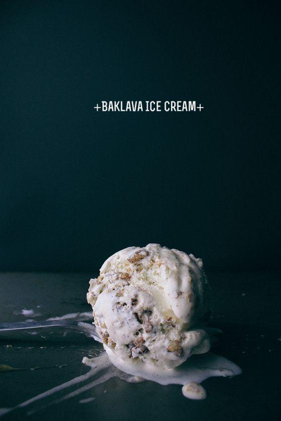 Baklava Ice Cream | Vegetarian Ventures