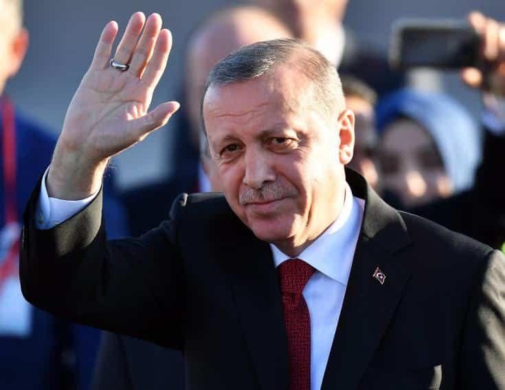 Erdogan Turkey not ready to restart Cyprus talks - Cyprus Mail