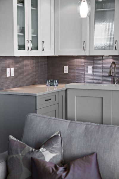Solutions Design Group Inc See More An Example Of The Subtle Use Colour In This Largely Gray Interior Infused With Soft