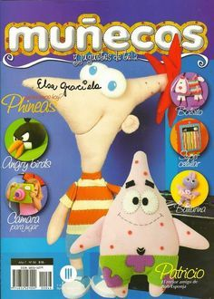 Revistas de manualidades gratis: como hacer a phineas muñeco tela