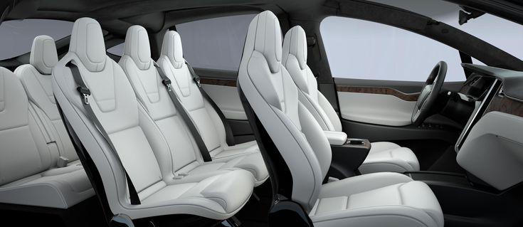 Model X   Tesla Motors 2015 Suv 7 Pax
