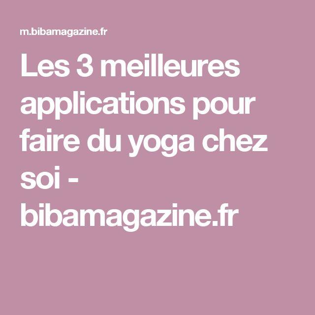 Oltre 25 fantastiche idee su faire du yoga su pinterest for Idee pour travailler chez soi