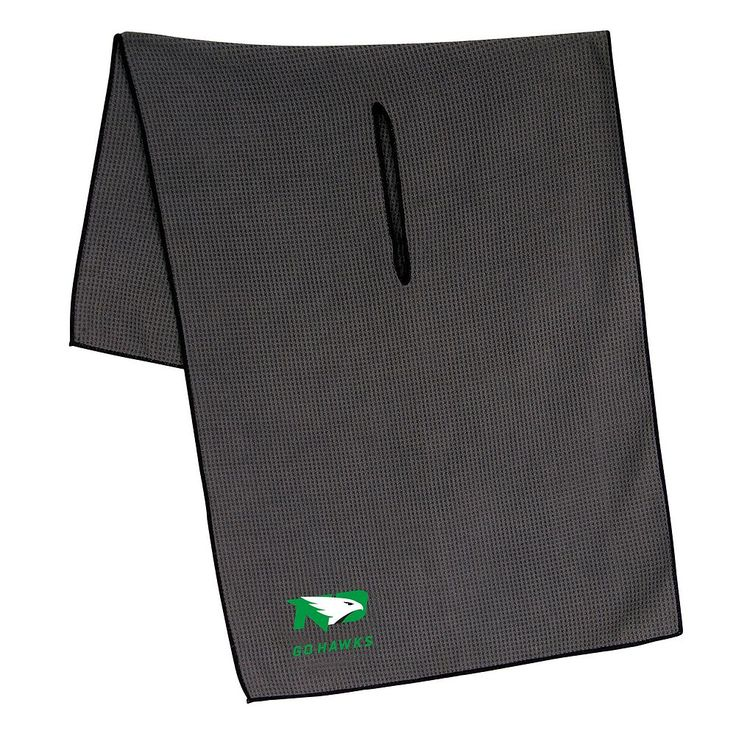 North Dakota Fighting Hawks Microfiber Golf Towel, Multicolor