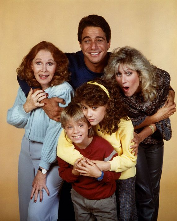 Who's the Boss ? Loved this show. With Tony Danza as the maid Tony Micelli, playing his daughter was Alyssa Milano (later played in Charmed) aka Samantha Micelli living in Angela Bowers' (Judith Light) house with son Jonathan Bower (Danny Pintauro) And mother Mona Robinson (Katherine Helmond). Aired from 1984 until 1992.