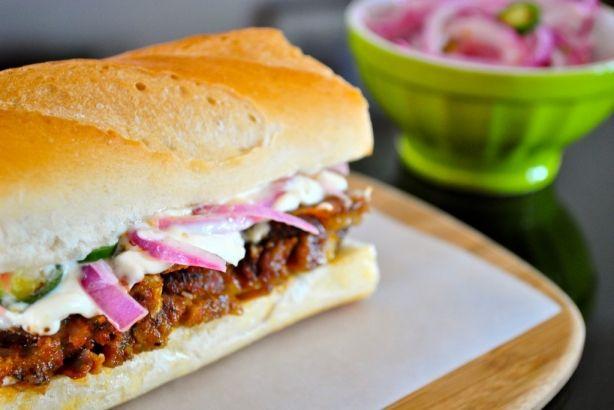 a peruvian favorite: sandwich de jamon del pais