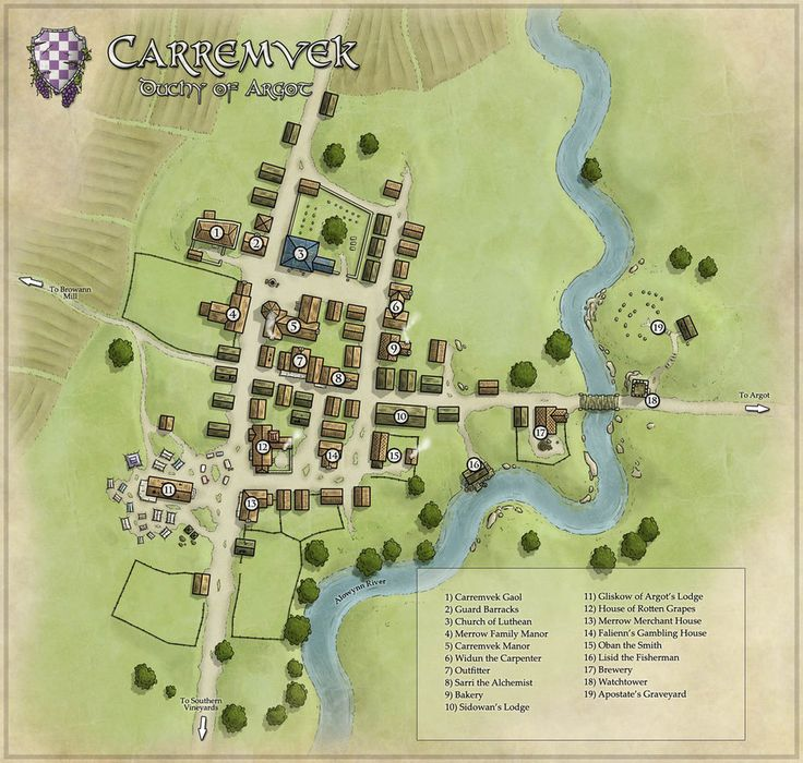 Carramvek Town by Ashlerb on DeviantArt