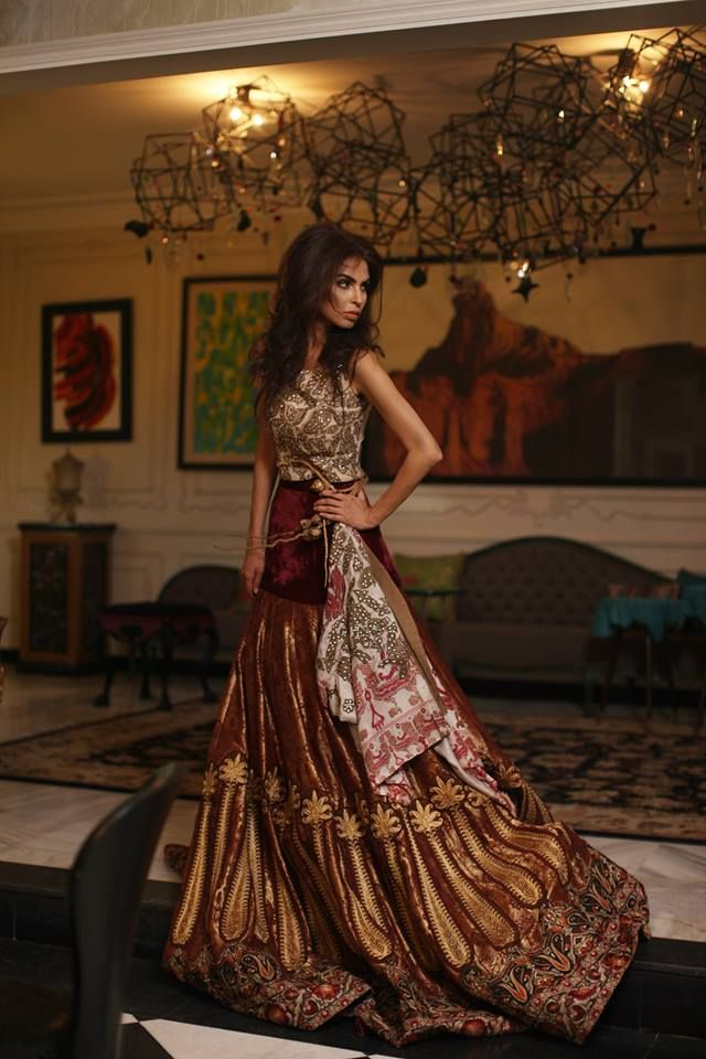 Shamaeel Ansari Latest Bridal Wear Dresses 2015 for Women http://clothingpk.blogspot.com/2015/08/shamaeel-ansari-latest-bridal-wear-dresses-2015.html