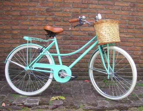 Bicicleta Retro Vintage !! Mujer Rodado 26, Oportunidad !! - $ 4.000,00 en Mercado Libre