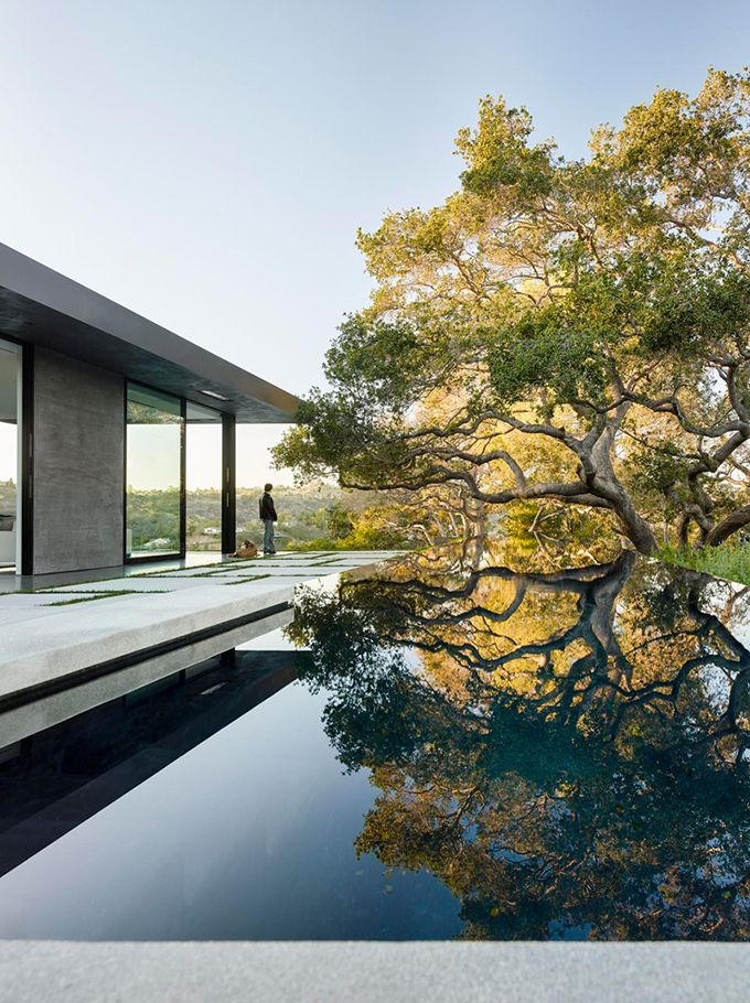 The Cool Hunter - Oak Pass House - Beverly Hills, California