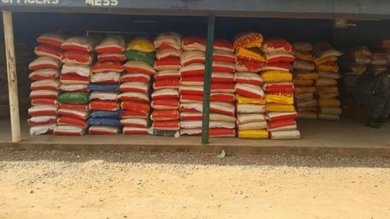 Customs Service seize 640 bags of smuggled rice with duty paid value of over N6.5m (ohotos)
