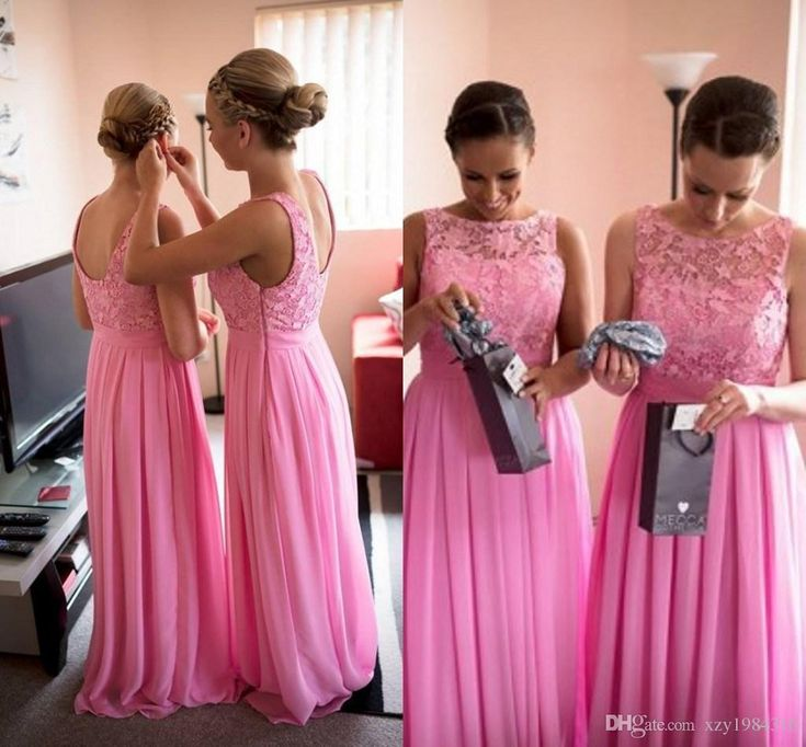 Lace Top Long Bridesmaid Dresses Sleeveelss Pleated Ruched Low Cut Back Charming Bridemaid Dresses Cheap Custom Made Chiffon Evening Gowns Alternative Bridesmaid Dresses Autumn Bridesmaid Dresses From Xzy1984316, $73.21  Dhgate.Com
