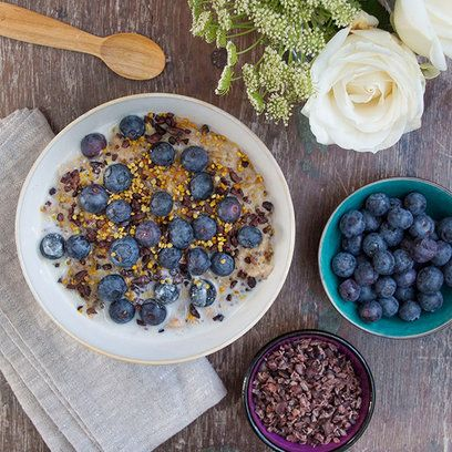 Deliciously Ella's creamy coconut porridge. For the full recipe, click the picture or visit RedOnline.co.uk