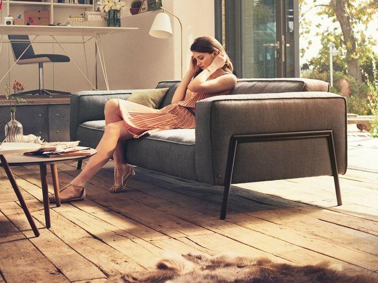 bacio robuust karakter en een nonchalante stoffering rolf benz pinterest upholstered. Black Bedroom Furniture Sets. Home Design Ideas