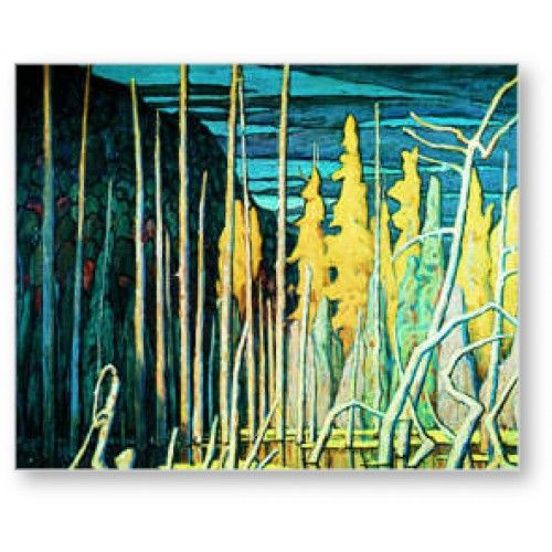 Lawren Harris - Tamarack Swamp ~ Group of Seven