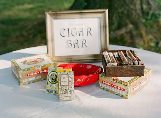 Cigar Bar for the guys! (And gals too)