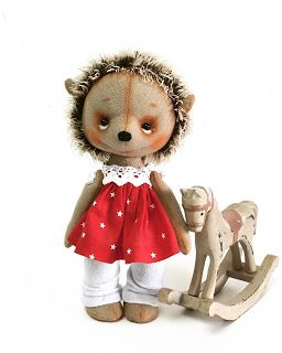 Handmade dolls by Natasha Matskine  בובות עבודת יד של נטליה מצקין