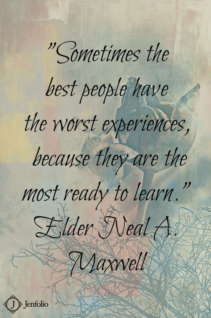 More Ready to Learn. Elder Neal A. Maxwell. The Church of Jesus Christ of Latter-Day Saints.