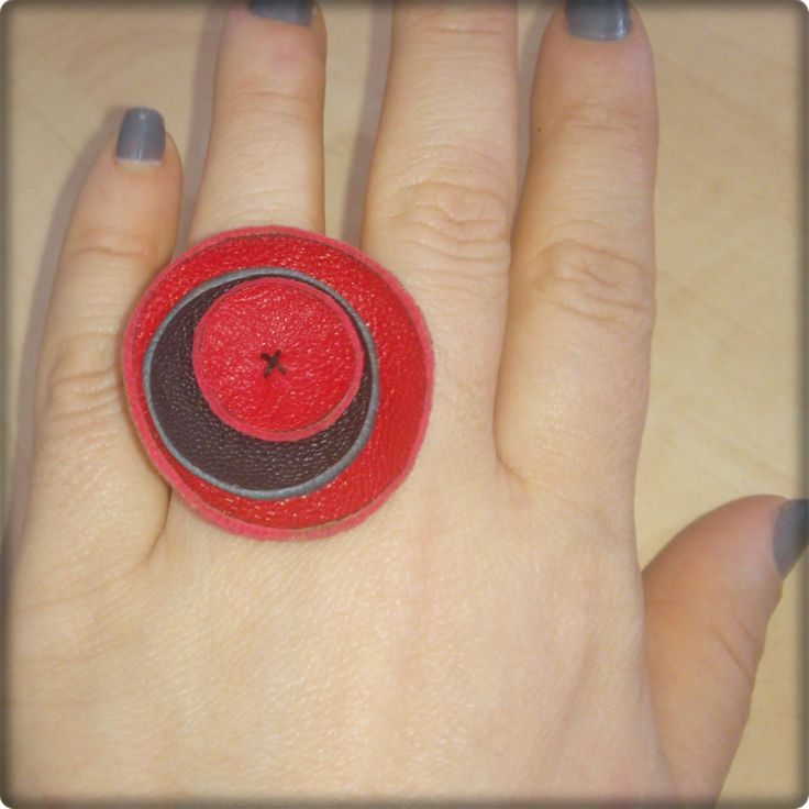 ring, leather, δαχτυλίδι, δέρμα,  https://www.facebook.com/pages/MarT/129277373855446