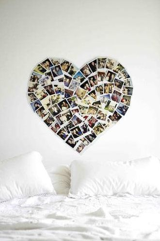 Another heart photo display