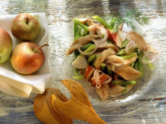 Bohnen-Matjessalat ist ein Rezept mit frischen Zutaten aus der Kategorie Fisch. Probieren Sie dieses und weitere Rezepte von EAT SMARTER!