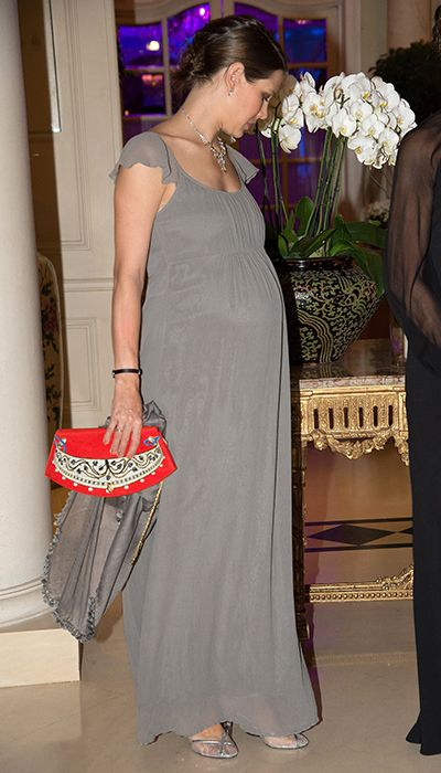 Pregnant Charlotte Casiraghi shows off her bump at the Amade Mondiale Association's 50th Anniversary Gala Dinner - Photo 1 | Celebrity news ...charlotte