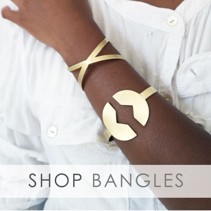 Mary Jean Bangles inspired by Africa herself. Buy your at http://www.maryjean.co.za/ #bangle #jewelry #jewellery #maryjean #Africa  #gold #silver #brass #wedding