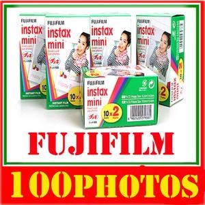 New Fuji instax mini film 100 photos Made in Japan FUJIFILM / Polaroid 300 - 51,21€ / 99,7% eval positives sur 12386