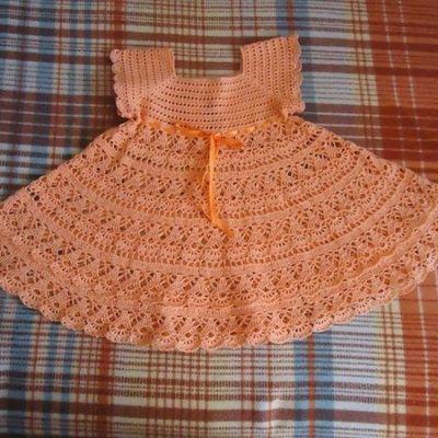 Childs crochet dress pattern