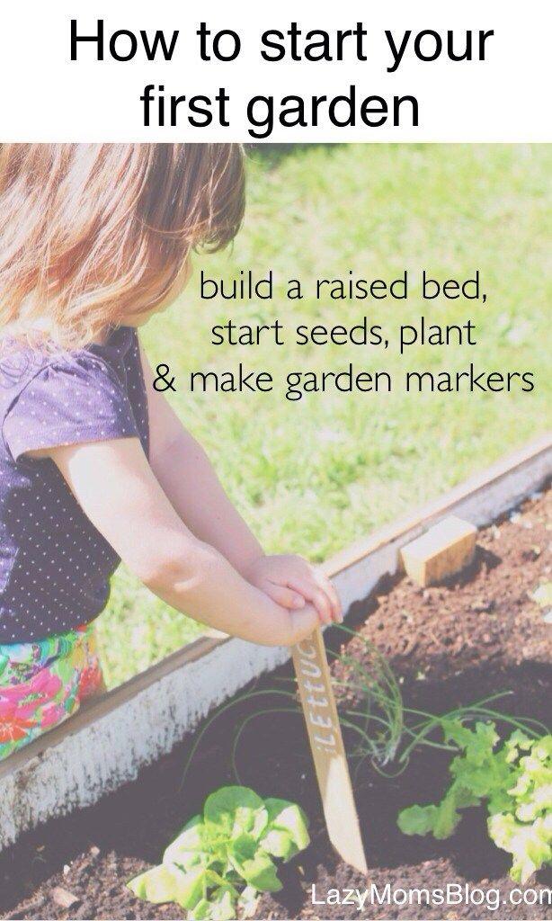 46 Best Garden Diy For Kids Images On Pinterest Our Kids