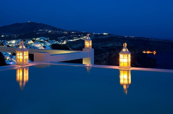 Aqua luxury suites Santorini, Greece, what a life