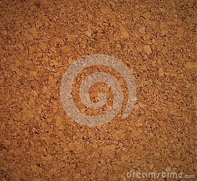 A shot of cork texture.