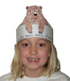 There's a groundhog on my head! printable, make predictions