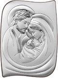 Srebrny obrazek Matka Boska z dzieciątkiem prezent na ślub #komunię #chrzest